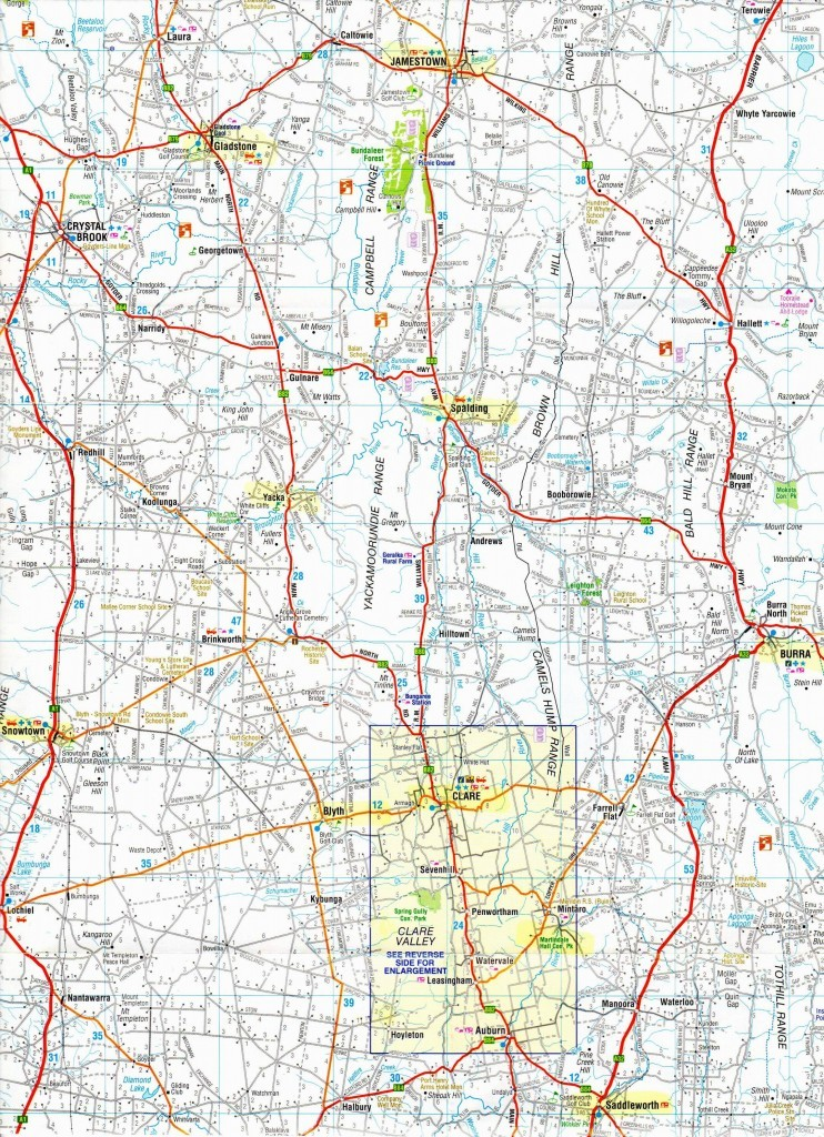 Clare map